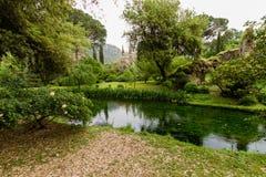Ποταμός στον κήπο Nympha στοκ φωτογραφίες με δικαίωμα ελεύθερης χρήσης