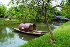 Ποταμός στο Βιετνάμ Στοκ φωτογραφία με δικαίωμα ελεύθερης χρήσης