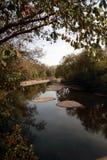 Ποταμός στο δάσος Mark Twain, νοτιοδυτικό σημείο MO Στοκ Φωτογραφίες