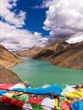 Ποταμός στο Θιβέτ Στοκ εικόνα με δικαίωμα ελεύθερης χρήσης