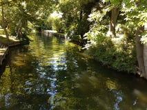 Ποταμός στο πάρκο Στοκ Φωτογραφίες
