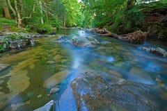 ποταμός στρώματος βράχου esk στοκ εικόνες