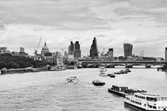 ποταμός Τάμεσης του Λονδίνου στοκ εικόνες