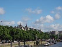 ποταμός Τάμεσης του Λονδίνου Στοκ φωτογραφία με δικαίωμα ελεύθερης χρήσης