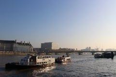 ποταμός Τάμεσης Στοκ εικόνες με δικαίωμα ελεύθερης χρήσης