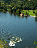 ποταμός Τέξας του Ώστιν Στοκ φωτογραφία με δικαίωμα ελεύθερης χρήσης