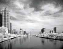 ποταμός Ταϊβάν αγάπης πόλεων στοκ εικόνα
