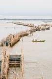ποταμός Ταϊλάνδη αγροτικών  Στοκ Φωτογραφίες