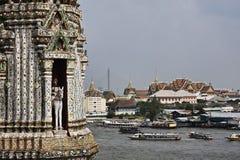 ποταμός Ταϊλάνδη phraya chao της Μπαν&g Στοκ φωτογραφία με δικαίωμα ελεύθερης χρήσης