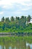 ποταμός Ταϊλάνδη Στοκ Εικόνες