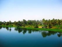 ποταμός της Αιγύπτου Νείλ& Στοκ Εικόνες