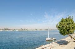 ποταμός της Αιγύπτου Νείλος Στοκ φωτογραφία με δικαίωμα ελεύθερης χρήσης
