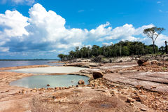 ποταμός της Αμαζώνας Στοκ Φωτογραφίες