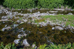 Ποταμός της ανατολικής Lyn σε Lynmouth Στοκ φωτογραφία με δικαίωμα ελεύθερης χρήσης