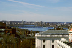 ποταμός της Βοστώνης Charles στοκ φωτογραφία με δικαίωμα ελεύθερης χρήσης