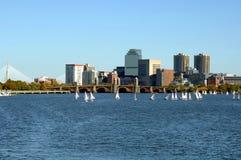 ποταμός της Βοστώνης Charles Στοκ Εικόνα