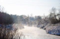 ποταμός της Ευρώπης Στοκ Εικόνες