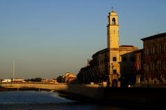 ποταμός της Πίζας arno στοκ εικόνες