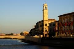 ποταμός της Πίζας arno στοκ φωτογραφία με δικαίωμα ελεύθερης χρήσης