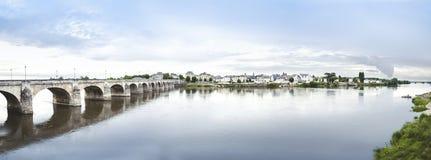 Ποταμός της Loire, Γαλλία Στοκ εικόνα με δικαίωμα ελεύθερης χρήσης