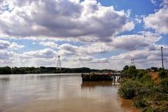 ποταμός της Loire Στοκ φωτογραφίες με δικαίωμα ελεύθερης χρήσης