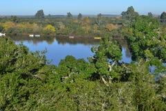 Ποταμός της Lucia Santa, Ουρουγουάη Στοκ Εικόνα