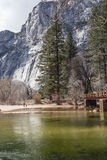 Ποταμός της Mercedes σε Yosemite ΙΙ Στοκ φωτογραφία με δικαίωμα ελεύθερης χρήσης