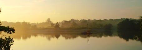 Ποταμός της Misty Στοκ Εικόνα