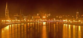 ποταμός του Ηνβερνές κάστ&rh Στοκ Φωτογραφίες