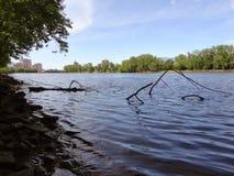 Ποταμός του Κοννέκτικατ στοκ φωτογραφία