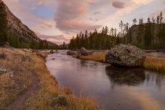 Ποταμός του Μάντισον σε Yellowstone Στοκ Φωτογραφίες