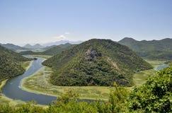 ποταμός του Μαυροβουνί&omi Στοκ φωτογραφίες με δικαίωμα ελεύθερης χρήσης