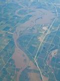 ποταμός του Μισσούρι στοκ εικόνα