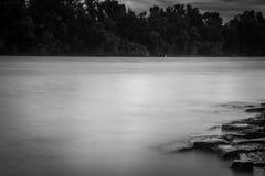 Ποταμός του Ρήνου Στοκ φωτογραφία με δικαίωμα ελεύθερης χρήσης