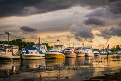 Ποταμός του Ρήνου Στοκ Φωτογραφία