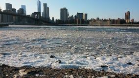 Ποταμός του Hudson στοκ εικόνα με δικαίωμα ελεύθερης χρήσης