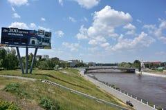Ποταμός του OM Στοκ εικόνα με δικαίωμα ελεύθερης χρήσης