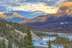 Ποταμός του Saskatchewan Στοκ φωτογραφία με δικαίωμα ελεύθερης χρήσης