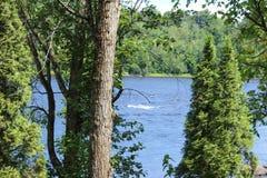 Ποταμός του ST Maurice, Trois-trois-rivieres Στοκ φωτογραφία με δικαίωμα ελεύθερης χρήσης