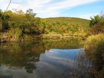 Ποταμός του Thomas στην κοιλάδα Henderson, Νότια Αφρική στοκ φωτογραφία