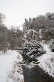 Ποταμός το χειμώνα Στοκ Εικόνα