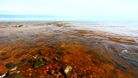 Ποταμός των βακκίνιων και ανώτερος λιμνών απόθεμα βίντεο