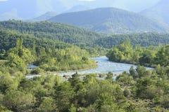 ποταμός των Πυρηναίων ara Στοκ φωτογραφίες με δικαίωμα ελεύθερης χρήσης