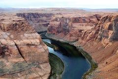 Ποταμός φαραγγιών του Glen στοκ εικόνα