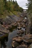 ποταμός φαραγγιών Στοκ εικόνες με δικαίωμα ελεύθερης χρήσης