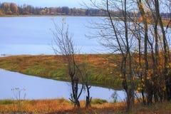 Ποταμός φθινοπώρου Στοκ Εικόνα