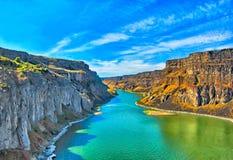 Ποταμός φιδιών στοκ φωτογραφία