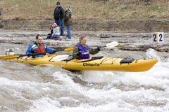 ποταμός φυλών λιμένων Μαρτίου καγιάκ ελπίδας 31 2012 διαδοχικός Στοκ φωτογραφίες με δικαίωμα ελεύθερης χρήσης