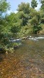 Ποταμός φύσης σιωπής Στοκ φωτογραφία με δικαίωμα ελεύθερης χρήσης