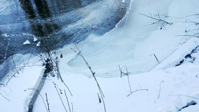 Ποταμός Χειμώνας Στοκ φωτογραφίες με δικαίωμα ελεύθερης χρήσης